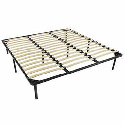 Best Choice Products Wooden Slat Metal Bed Frame Wood Slats