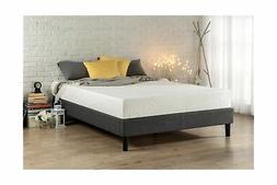 Zinus Curtis Essential Upholstered Platform Bed Frame, Full