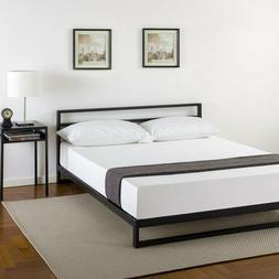 Zinus Trisha 7 Inch Platforma Bed Frame with Headboard / Mat
